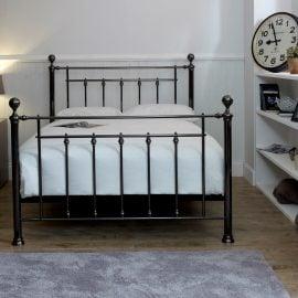 limelight-libra-metal-bed-frame-black