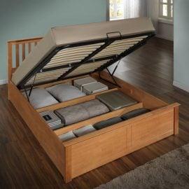Birlea Phoenix Oak Ottoman Bed Frame