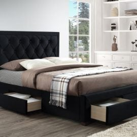 Birlea Woodbury Black Bed Frame