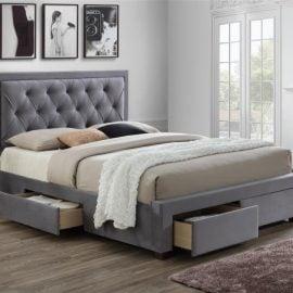 Birlea Woodbury Grey Bed Frame