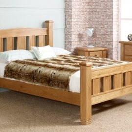 Birlea Woodstock Oak Bed Frame