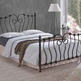 France Black Bed Frame