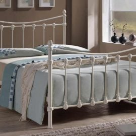 Greece Ivory Bed Frame