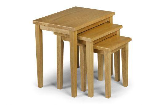 cleo nest of tables. Black Bedroom Furniture Sets. Home Design Ideas
