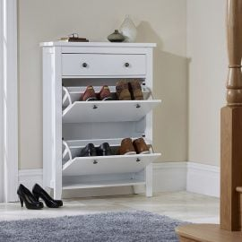 dumont-shoe-cabinet-with-drawer-white