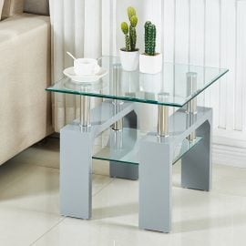 frankie-lamp-table -grey
