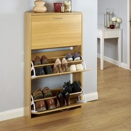 hugh-three-tier-shoe-cabinet-oak