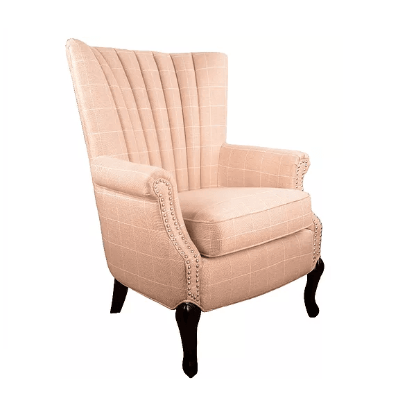 fionn beige with white pin stripe armchair bigmickey ie