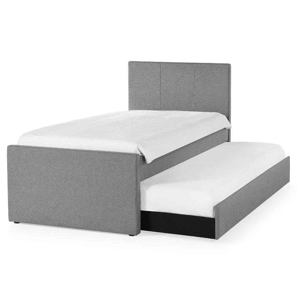 oxford bed trundle p grey included in storage with dark captains supersize guest
