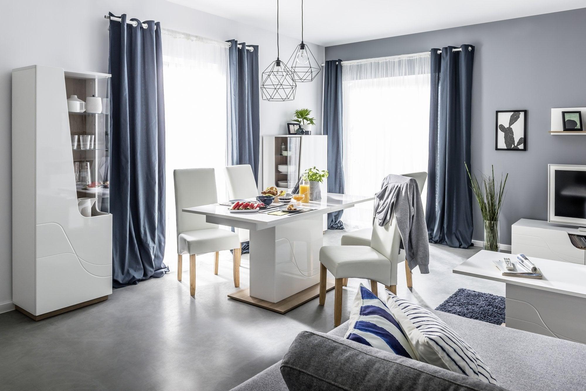 Home, Furniture & Diy Wardrobes New Msofas Maya Single Mirror Large White Wardrobe Living Bedroom Furniture