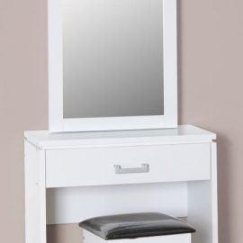 charlene-1-drawer-dressing-table-set-white