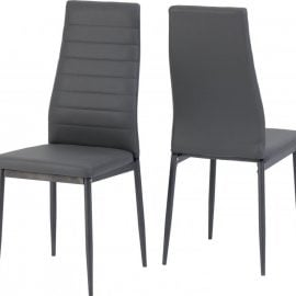 abba-faux-leather-dining-chair-grey