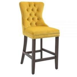kayleigh-fabric-bar-stool-gold-velvet