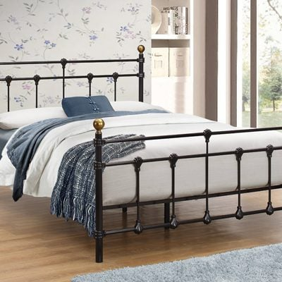 birlea-atlas-metal-bed-frame-black