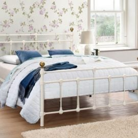 birlea-atlas-metal-bed-frame-cream