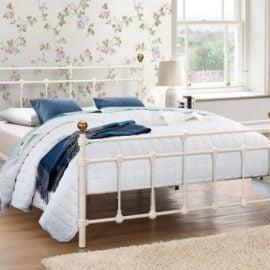 birlea-atlas-metal-bed-frame-cream