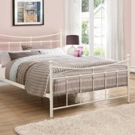 birlea-emily-metal-bed-frame-cream