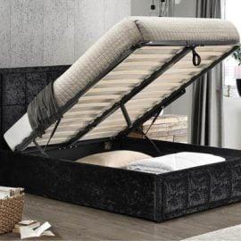 birlea-hannover-ottoman-bed-black-crushed-velvet