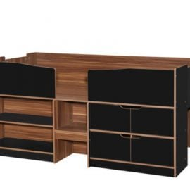 birlea-merlin-cabin-bed-black-and-walnut