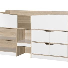 birlea-merlin-cabin-bed-white-and-light-oak