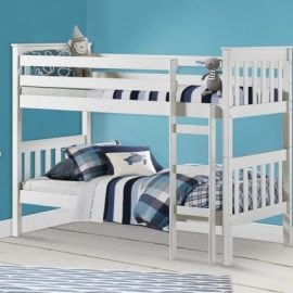 birlea-portland-pine-bunk-bed-white