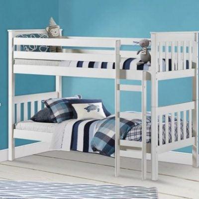 birlea-portland-pine-bunk-bed-white