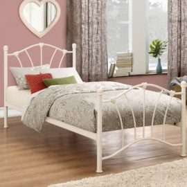 birlea-sophia-metal-bed-frame-cream