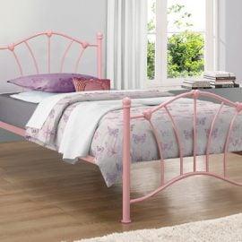 birlea-sophia-metal-bed-frame-pink