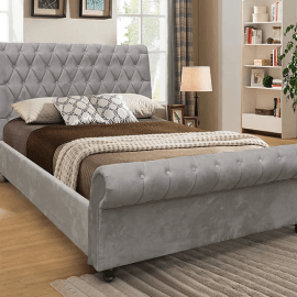 kilarney-fabric-bed-frame-silver