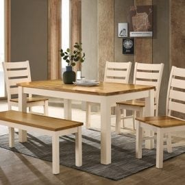 chello-dining-set-with-4-chairs-1-bench-cream