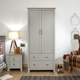 york-2-door-2-drawer-wardrobe-grey