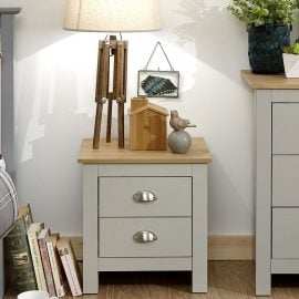 york-2-drawer-bedside-grey