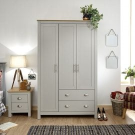 york-3-door-2-drawer-wardrobe-grey