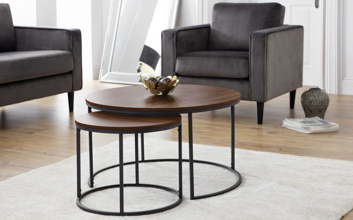 Picture of: Bellini Round Nesting Coffee Table