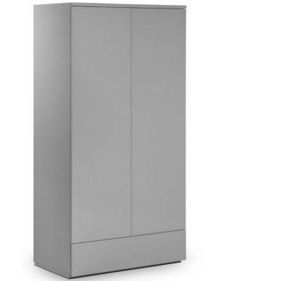 monaco-2-door-1-drawer-wardrobe-grey